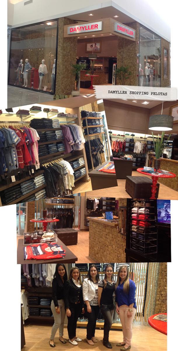 Inaugurou a nova loja Damyller no Shopping Pelotas, para o povo gaúcho andar ainda mais no estilo e curtir o jeans que leva o nome Damyller!