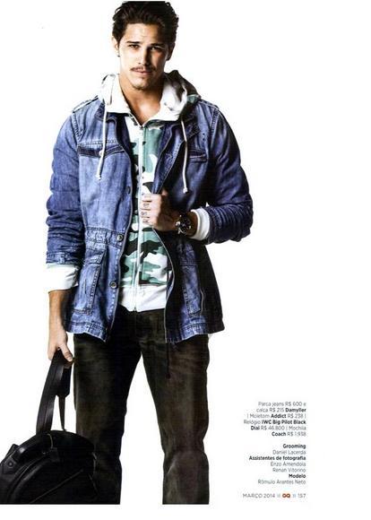 Damyller Jeans na Revista GQ Brasil