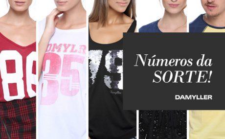 Qual é seu número da Sorte? – T-shirts Damyller