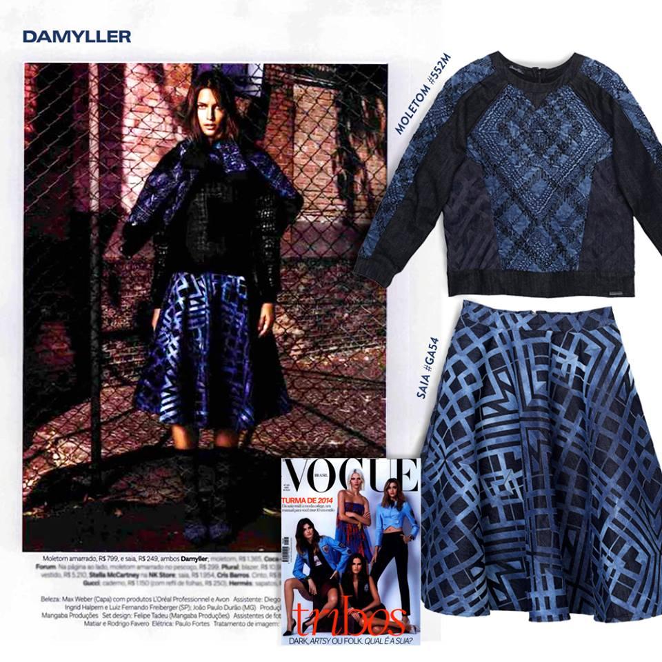 Damyller Jeans na Revista Vogue Brasil