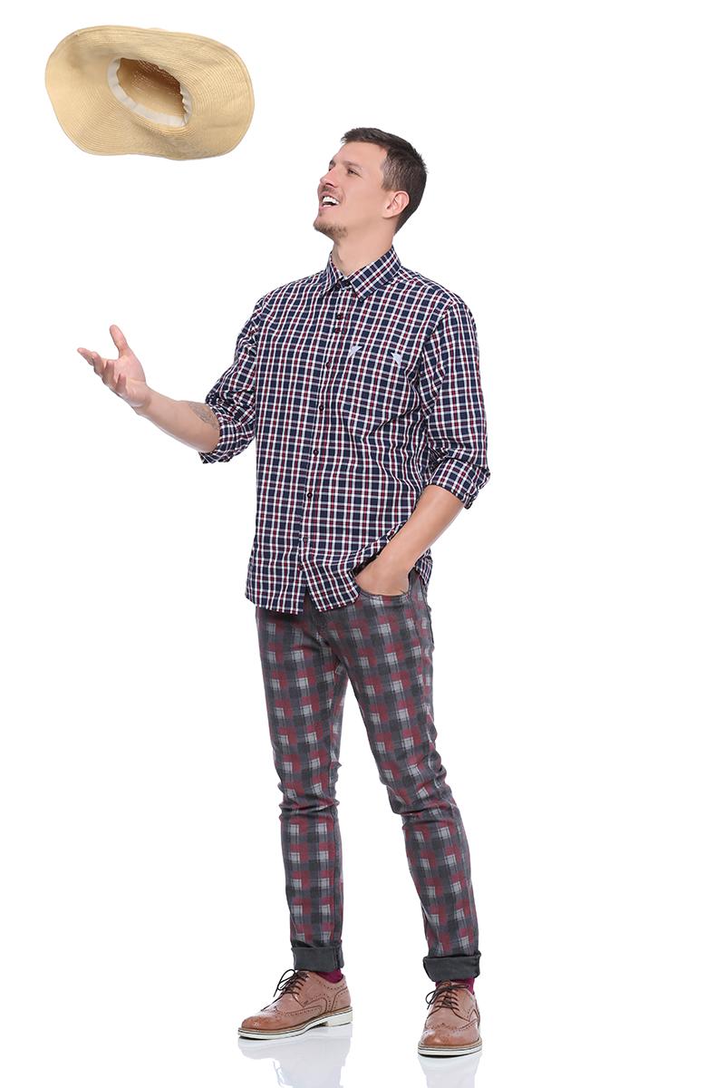 Clique aqui e compre a camisa xadrez para festa junina!