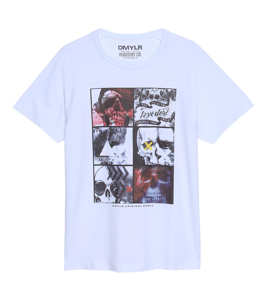 Clique aqui e compre sua t-shirt com estampa de caveira - Damyller