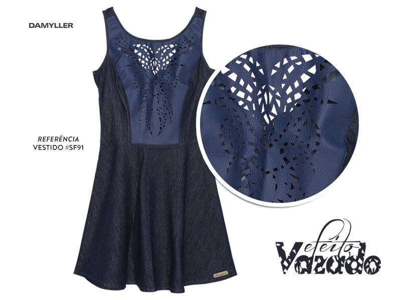 Clique aqui e compre seu vestido com efeito vazado!