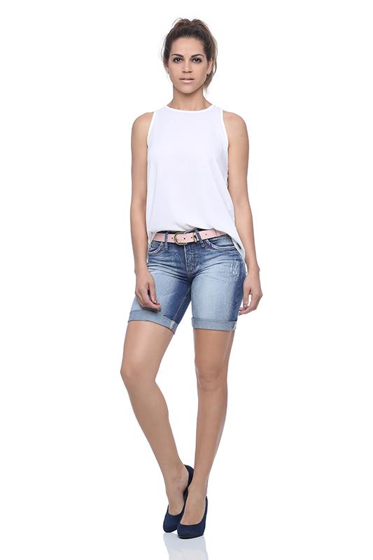 look-para-trabalho-bermuda-jeans-feminina-damyller