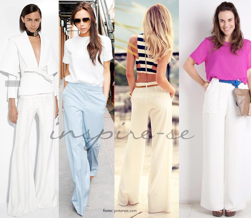 Inspiração: Look com calça pantalona alfaiataria