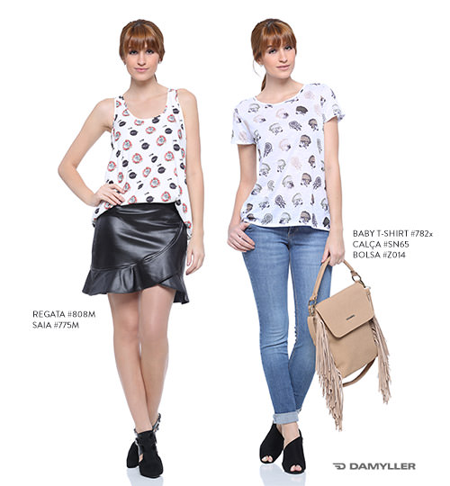 looks com estampa de animal pet