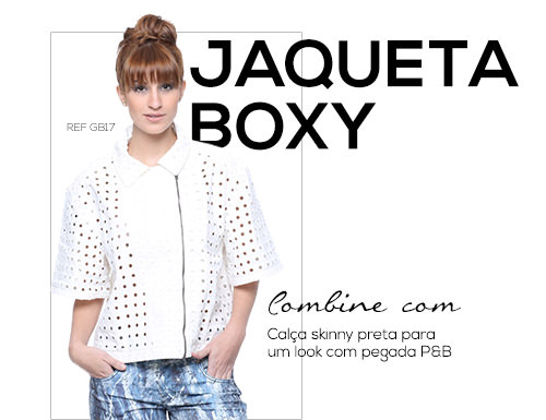 SPFW - Jaquete Boxy