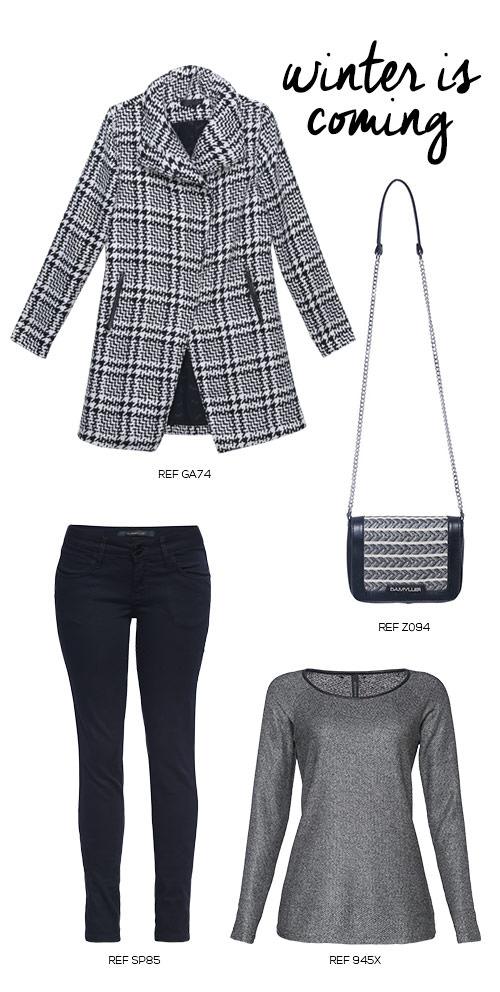 montar a mala com roupas de frio