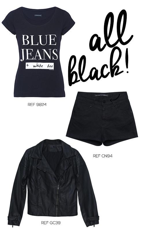 roupas pretas femininas