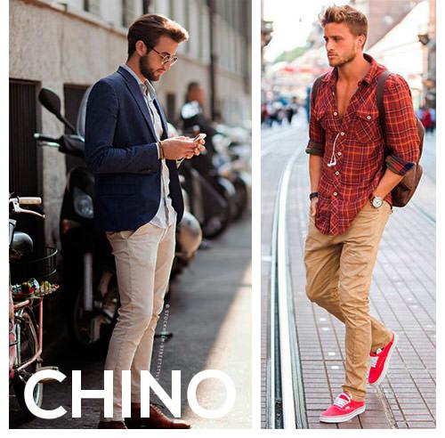 street style com calça chino
