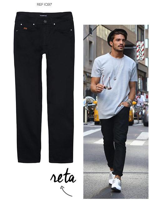 tênis branco com calça jeans
