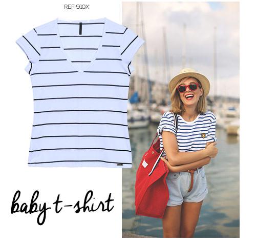 blusa estilo navy