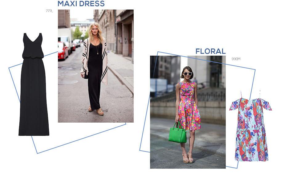 vestidos leves para o verão
