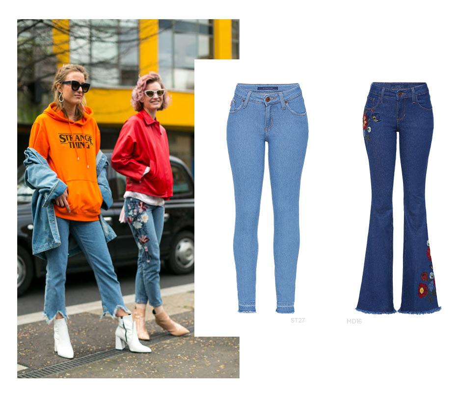 Jeans detalhes
