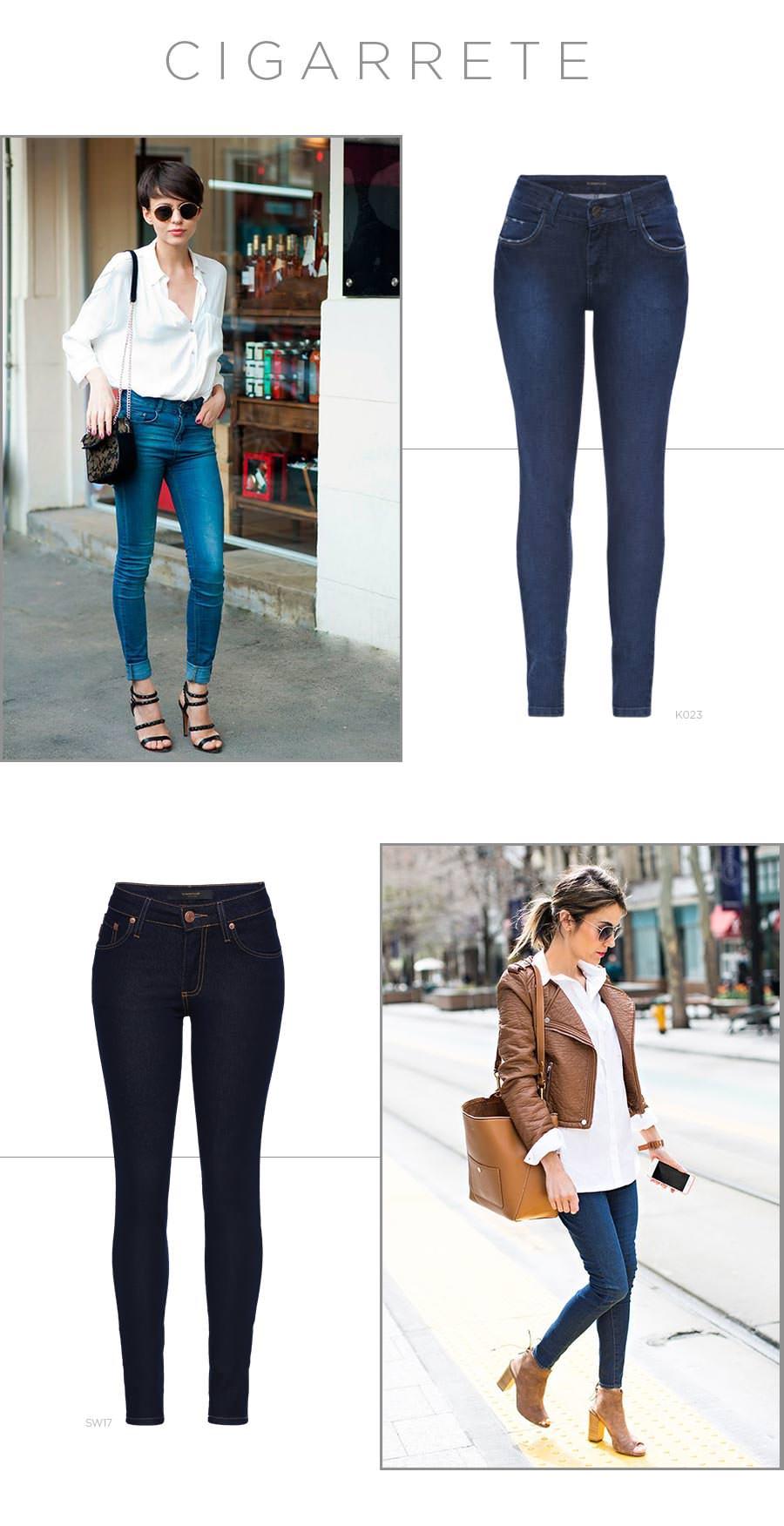 Jeans cigarrete