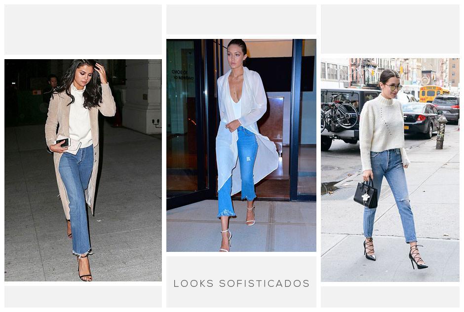 Looks sofisticados com jeans cropped