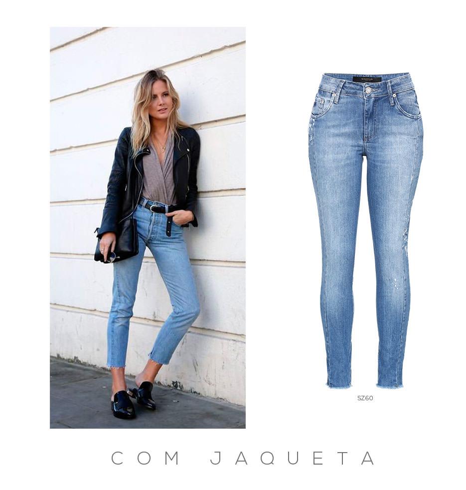 Jeans e jaqueta perfecto