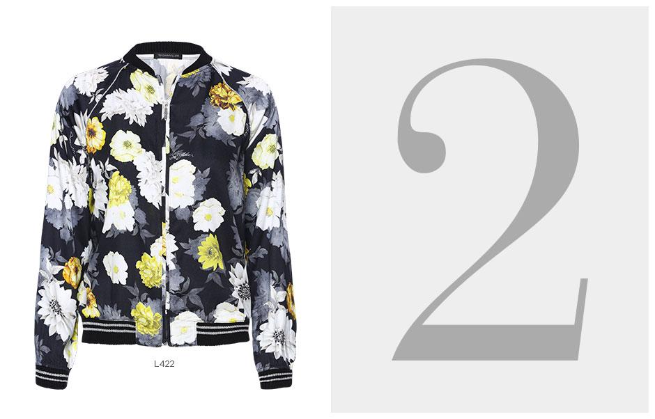 jaqueta bomber floral