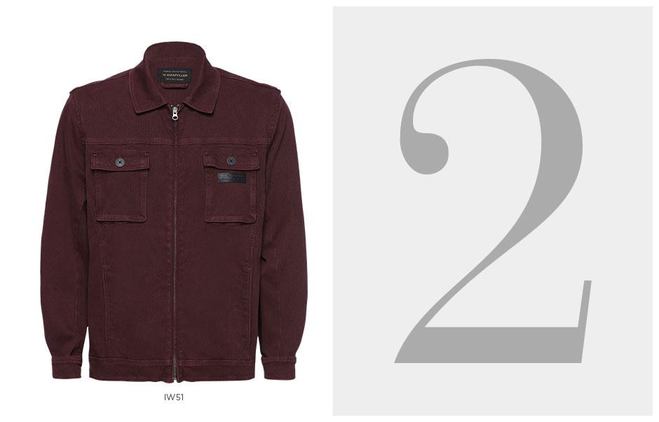 jaqueta bordo masculina