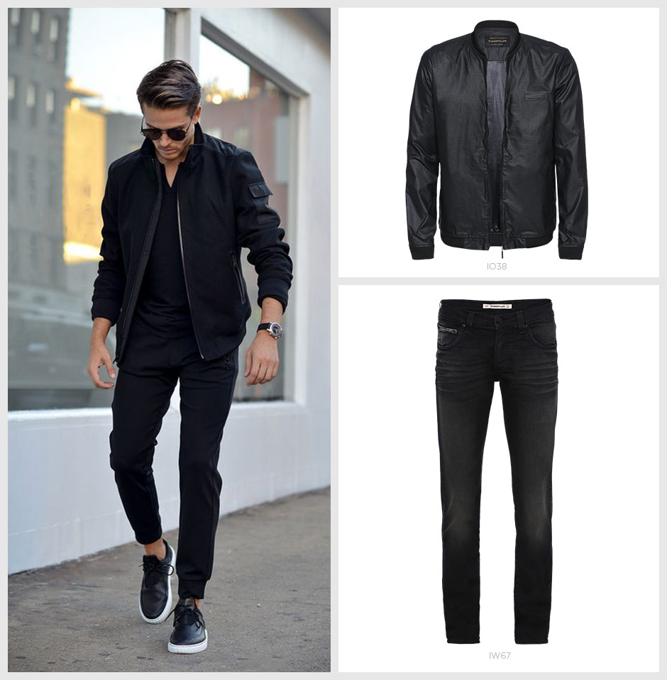 look all black masculino