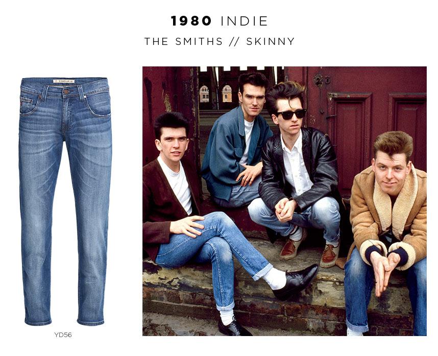 the smiths usando jeans