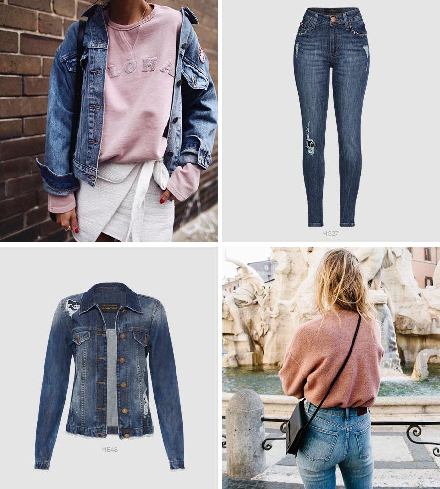 millennial pink em looks femininos