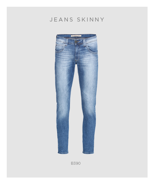 Jeans skinny masculino