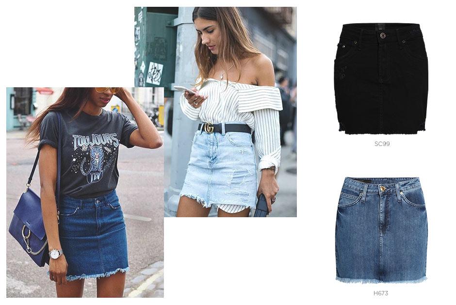 Minissaia jeans