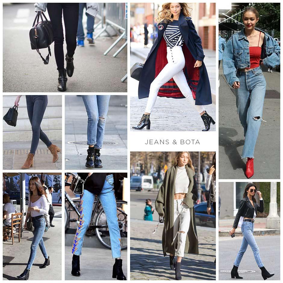 bota e jeans street style