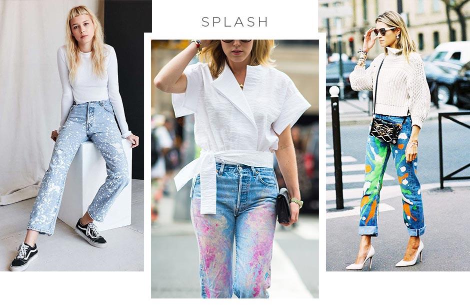 jeans splash