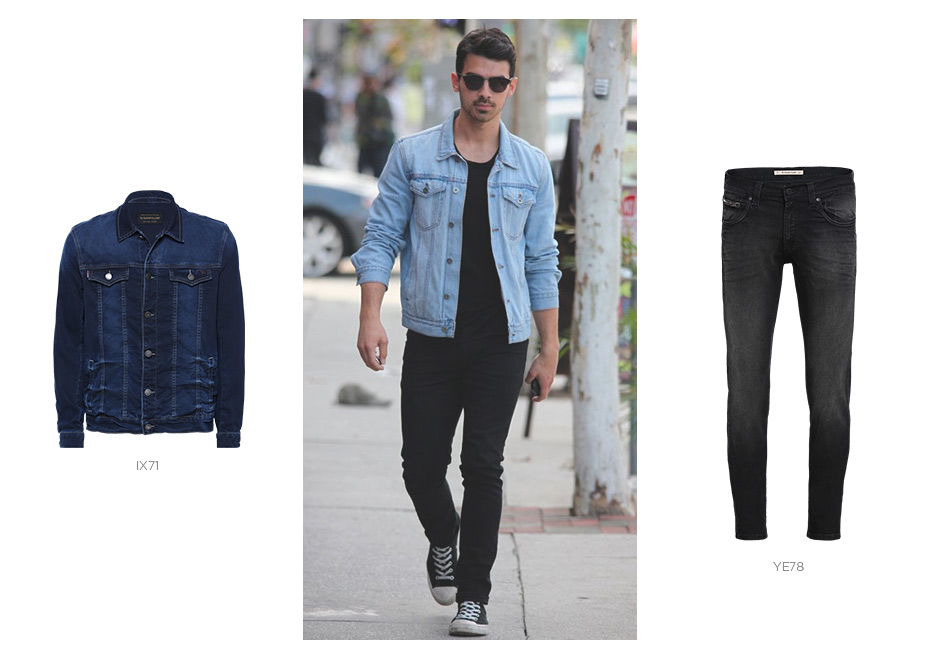 joe jonas com look jeans