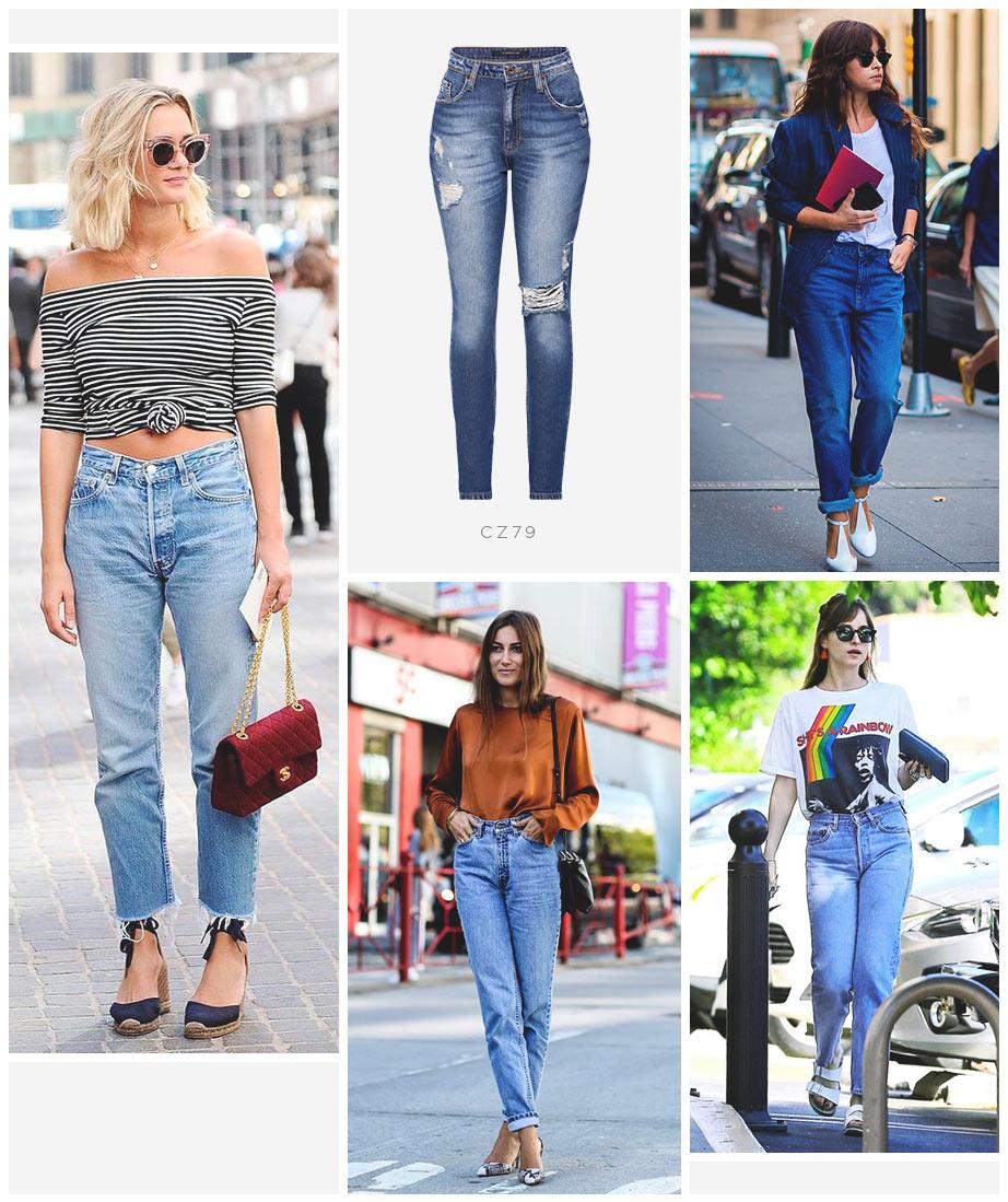 Calça mom jeans Damyller