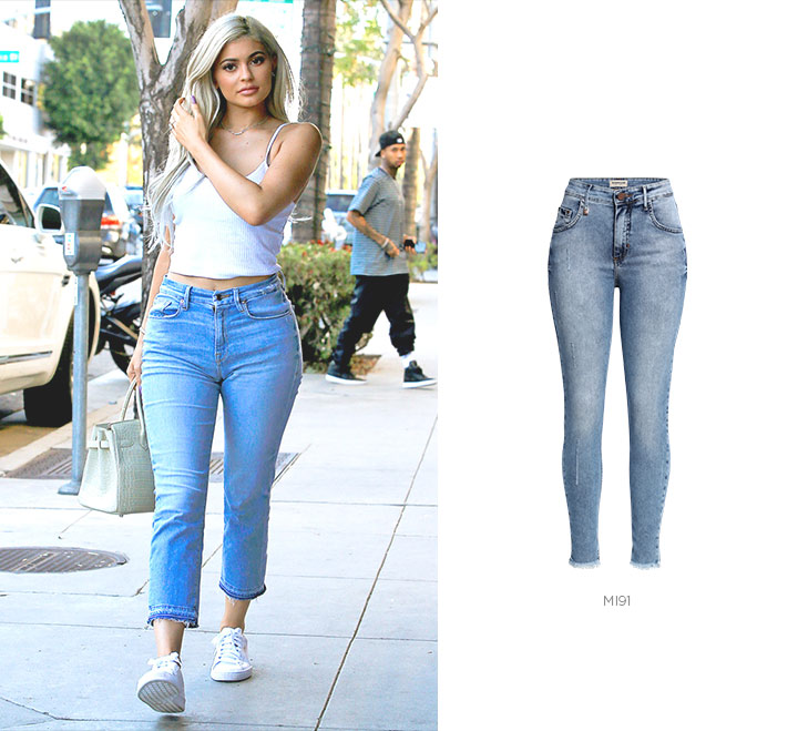 kylie jenner com look casual