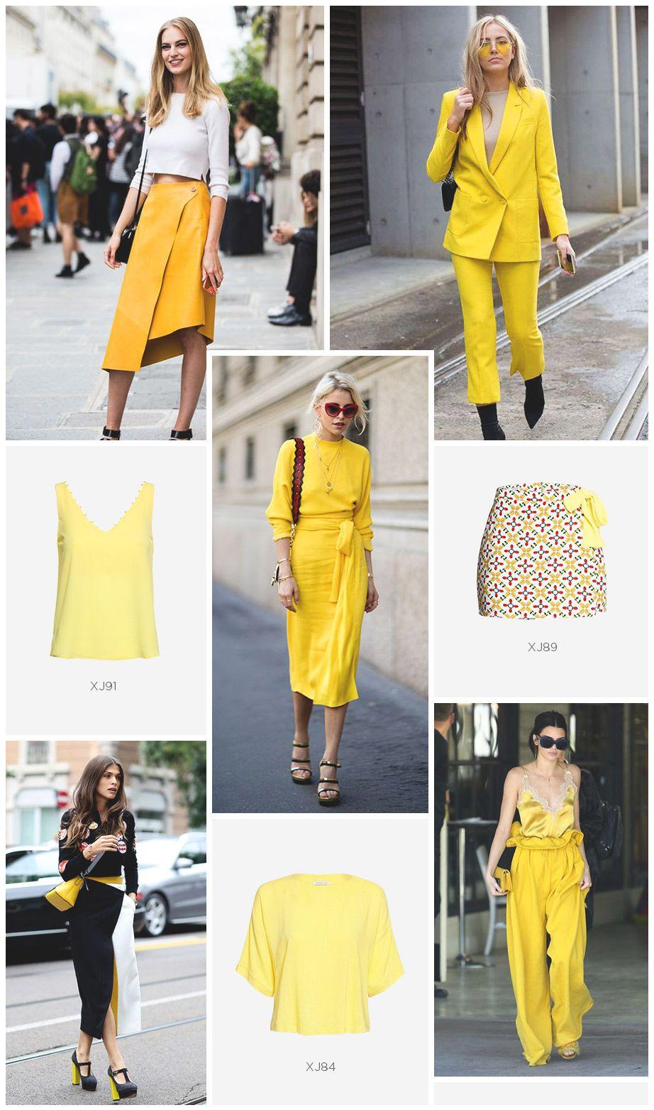 amarelo street style verao