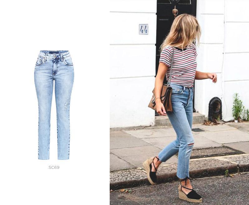 jeans damyller look feminino