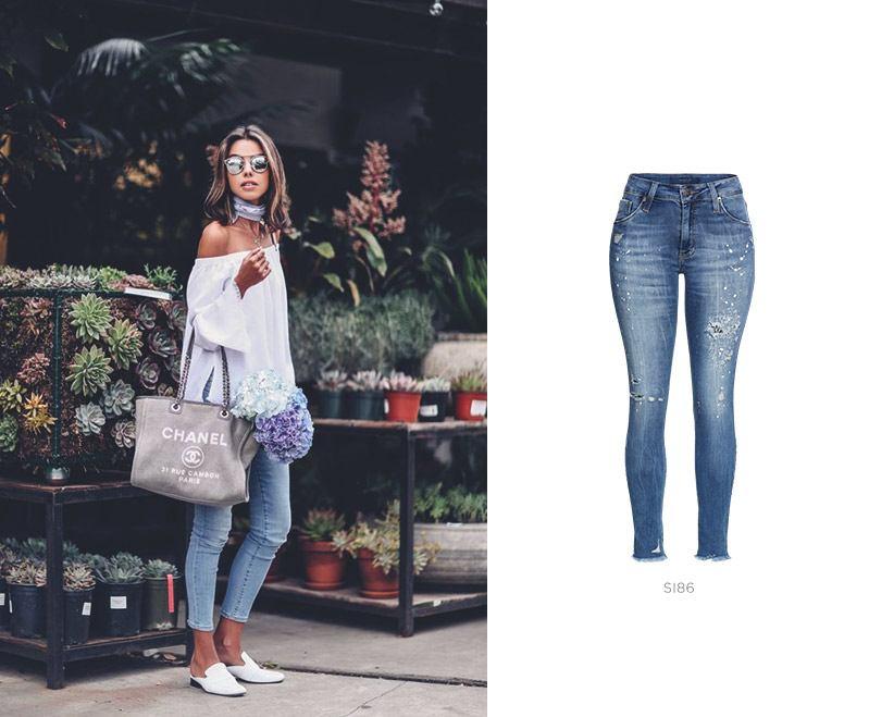 look feminino com jeans