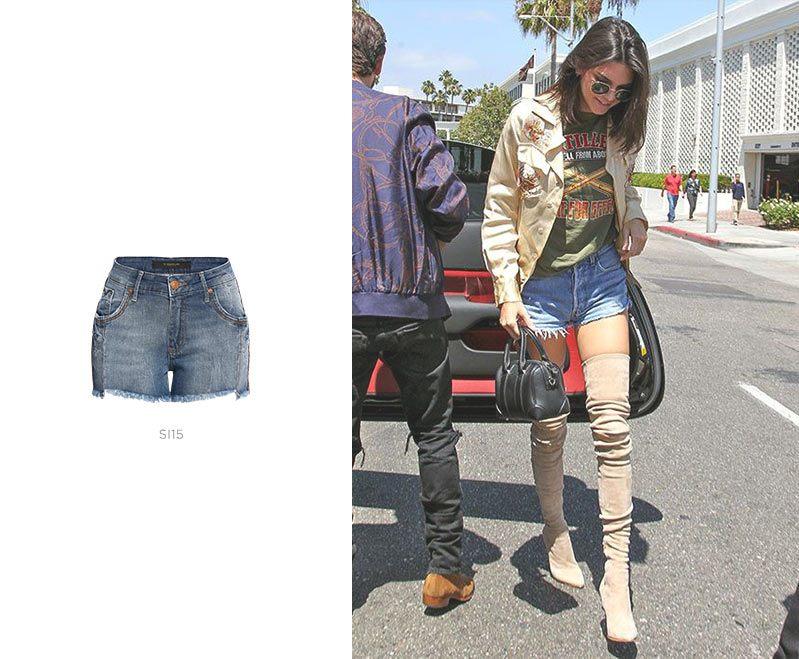 short jeans kendall jenner