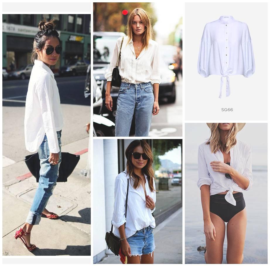 camisa branca damyller