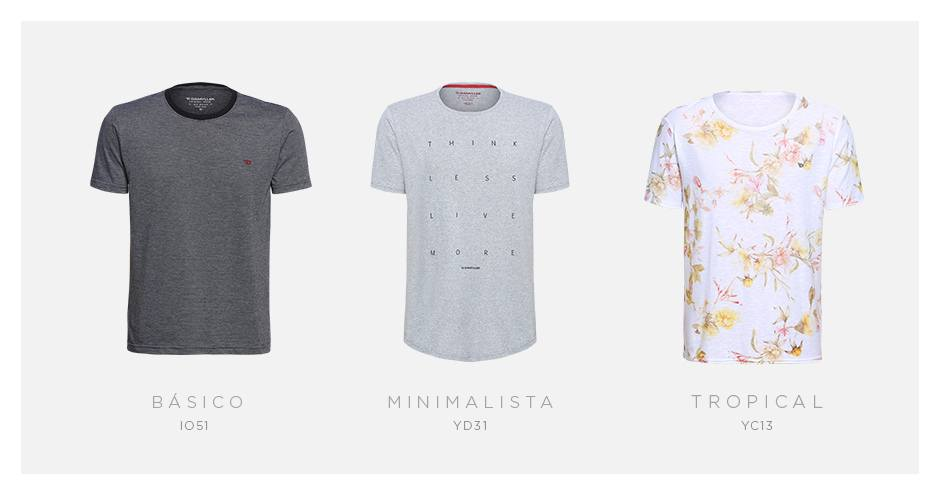 camisetas masculinas damyller