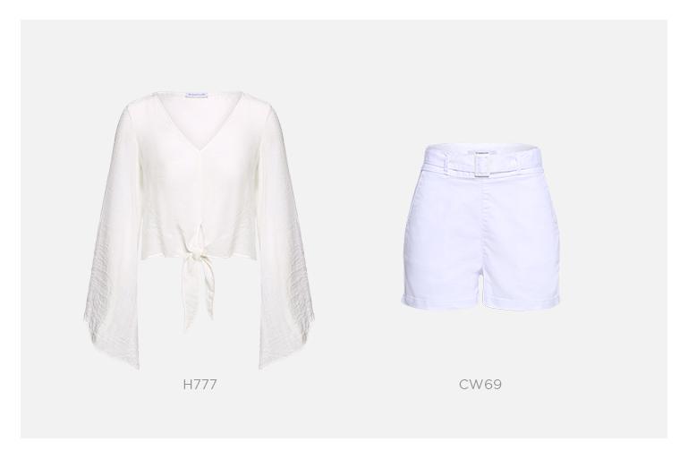 conjunto branco damyller
