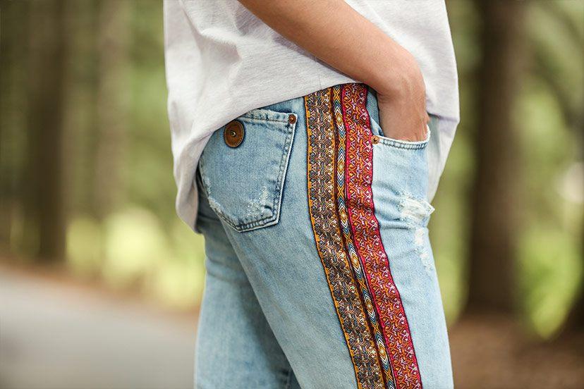 jeans boho damyller
