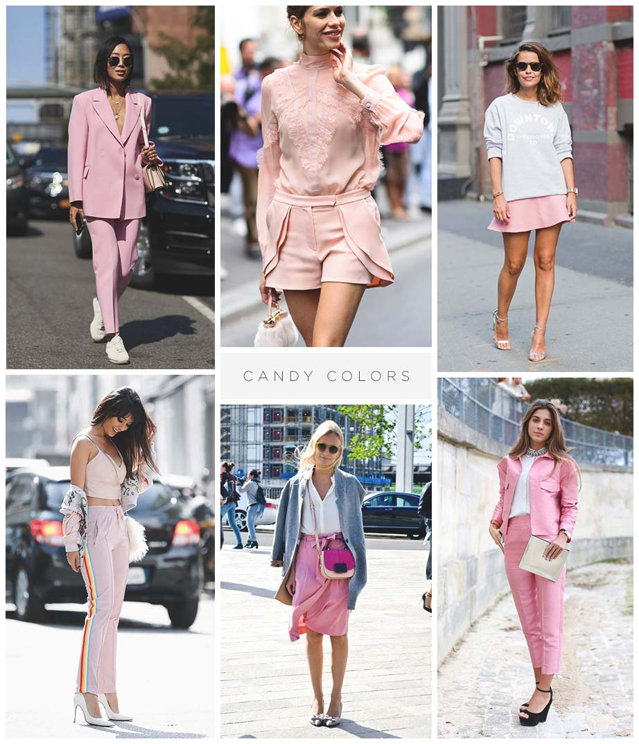 tendencia candy colors