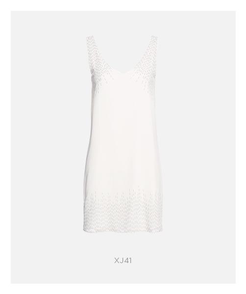 vestido branco curto damyller
