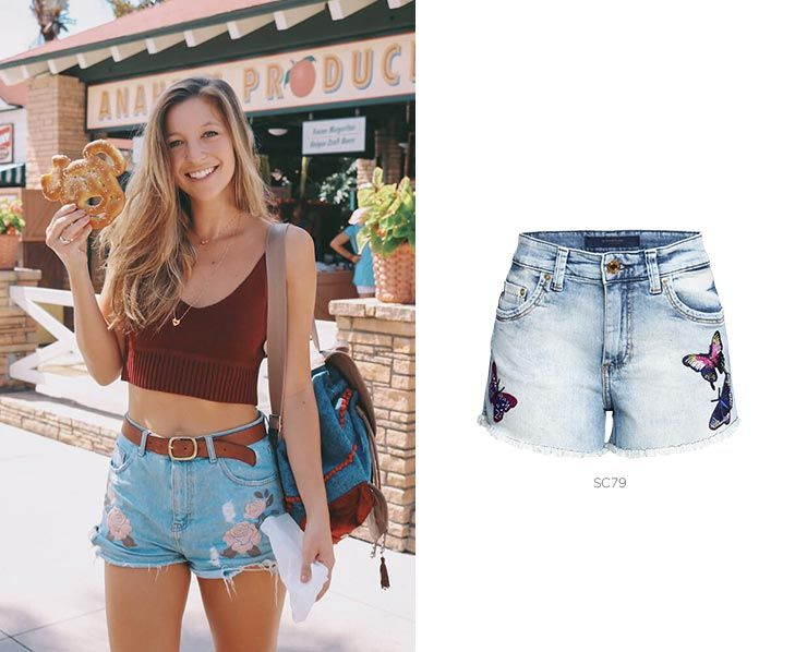 5 shorts jeans para looks de Carnaval bordado damyller