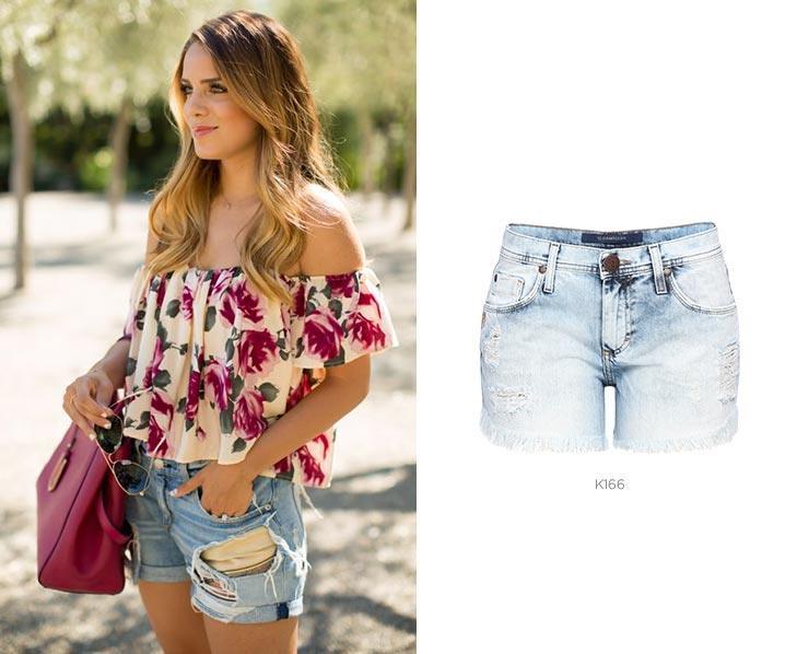 5 shorts jeans para looks de Carnaval boyfriend damyller