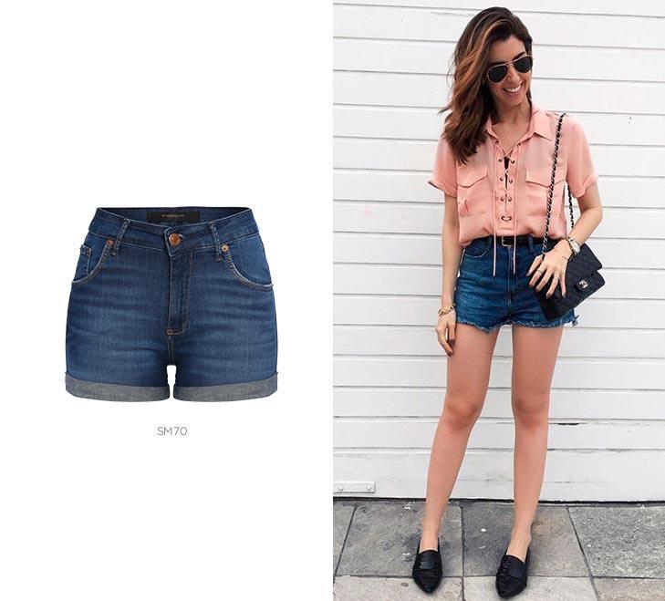 5 shorts jeans para looks de Carnaval cintura alta damyller
