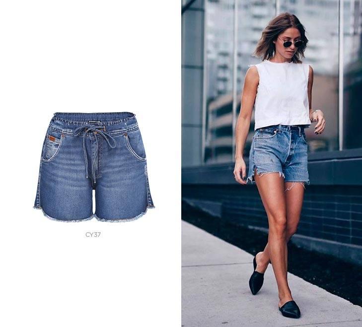5 shorts jeans para looks de Carnaval jogger damyller