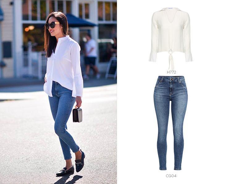 look sofisticado com jeans