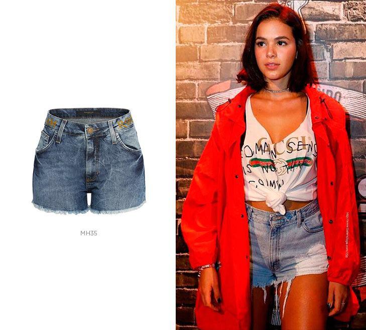short jeans bruna marquezine