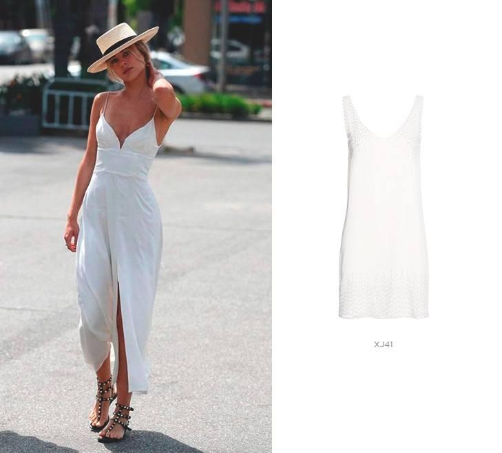 vestido branco damyller